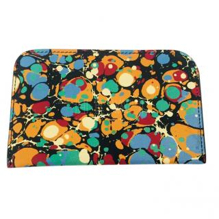 Victoria Beckham Multi-Colour Printed Card Holder