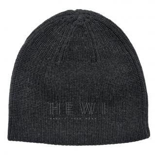 Ralph Lauren Black Label charcoal wool hat