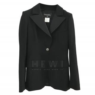 Chanel Classic Black Tailored Jacket