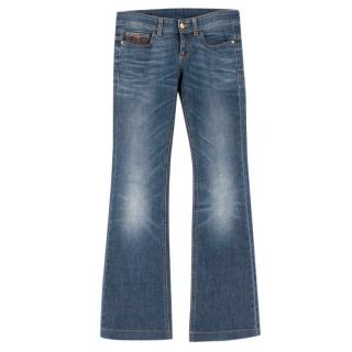 Gucci Denim Flared Jeans