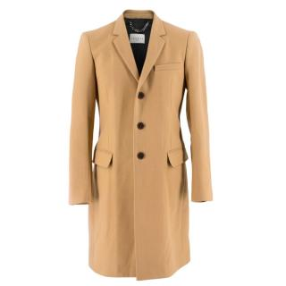 Sandro Classic Tailored Camel Coat