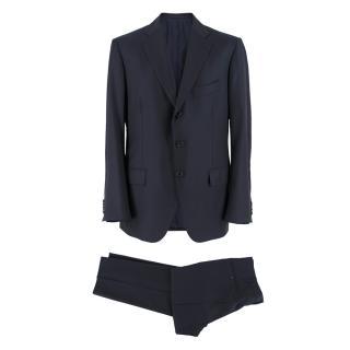 Cesare Attolini Black Men's Tailored Classic Suit
