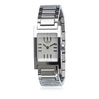 Hermes Stainless Steel Tandem Watch