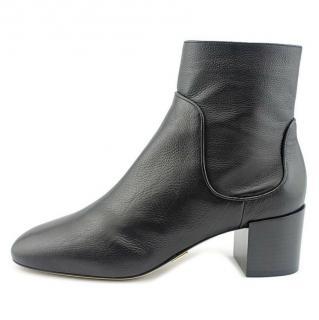 Michael Kors Collection Erin Block Heel Ankle Boots