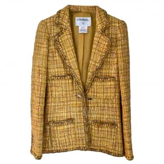 Chanel Resort 2011 Marigold Tweed Jacket