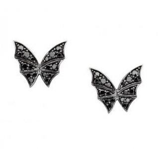 Stephen Webster Fly By Night Black Diamond Butterfly Earrings