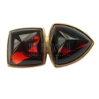 Yves Saint Laurent VIntage Runway Large Jewel Brooch