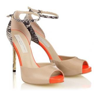 Stella McCartney Morgana Mock Viper Sandals