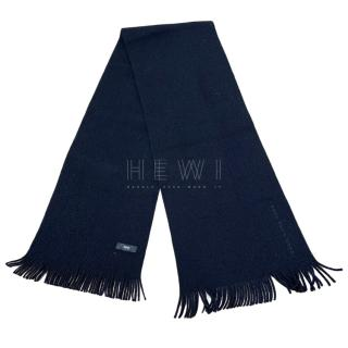 Boss Hugo Boss Black Knit Scarf