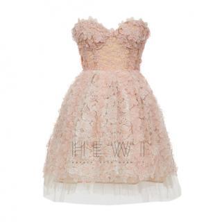 Giambattista Valli x H&M tulle and organza strapless evening dress