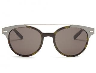 Dior Homme black tie 220s tortoiseshell sunglasses