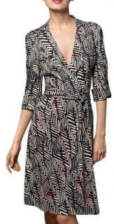 Diane Von Furstenberg Utility Maize Wrap Dress