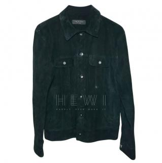 Rag & Bone black suede jacket