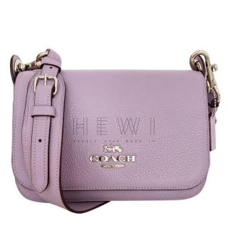 Coach Lilac Leather Crossbody Bag