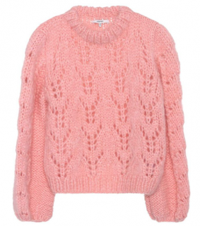 Ganni Faucher Wool & Mohair Sweater