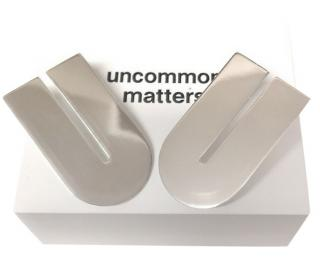 Uncommon Matters Silver Tone U Shape Earrings