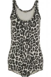 Bottega Veneta Runway Leopard Print Bodysuit
