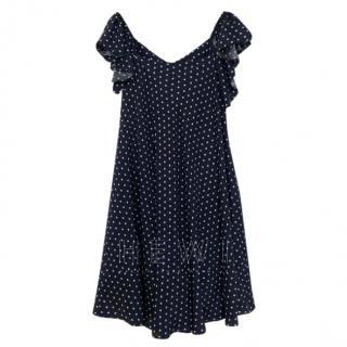 Isa Arfen Polka Dot Mini Dress