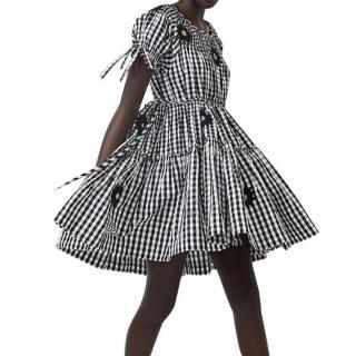 Innika Choo Bre Danbutta mini smock collar dress