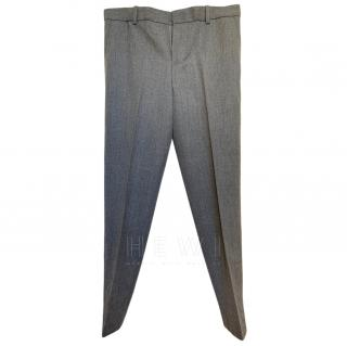 Polo Ralph Lauren Grey Wool Trousers