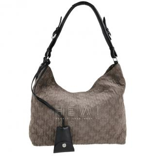 Louis Vuitton Antheia suede Granit PM tote