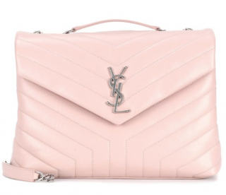 Saint Laurent Medium Blush Pink Loulou Bag