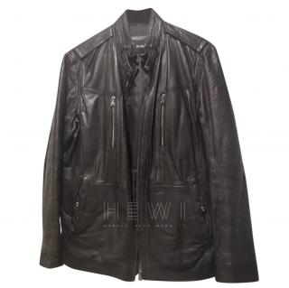 Boss Hugo Boss Men's Leather Jacket