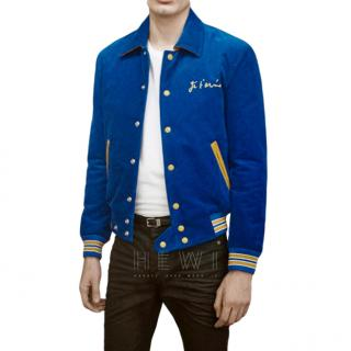 Saint Laurent Men's Je T'aime Teddy Jacket