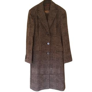 Loro Piana Long Tweed Coat