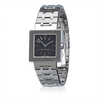 Bvlgari  Stainless Steel Quadrato Watch