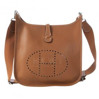 Hermes Gold Evelyne PM Bag