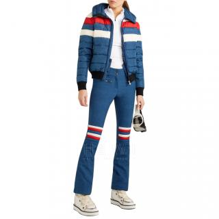 Perfect Moment denim effect ski jacket