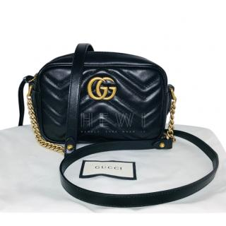 Gucci Mini GG Marmont Chain Shoulder Bag