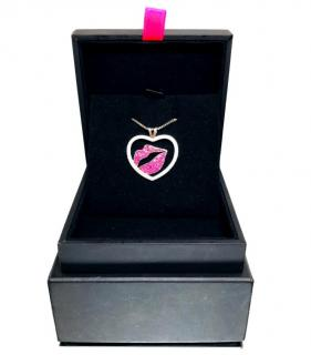 Theo Fennell Kiss My Art Pendant Necklace