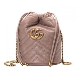 Gucci GG Marmont mini bucket bag