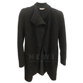Givenchy Black Wool Coat