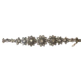 Amrapali Diamond Floral Bracelet