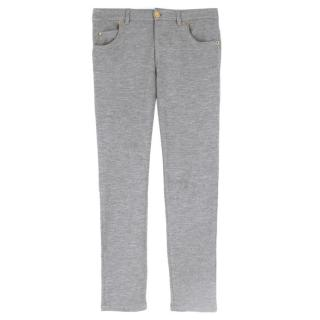 Louis Vuitton Gray Cashmere Leggings