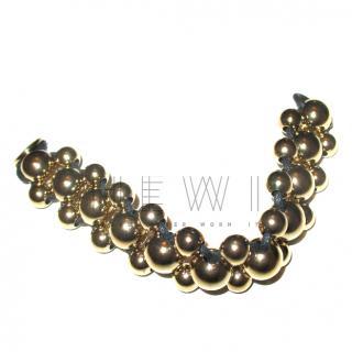 Dryberg/Kern Beaded Gold Bracelet