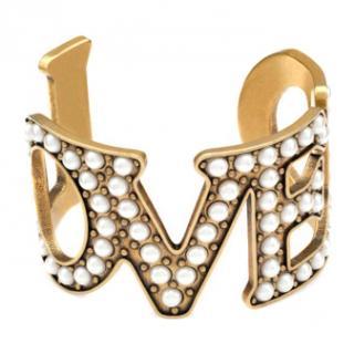 Gucci LOVED Pearl Bracelet