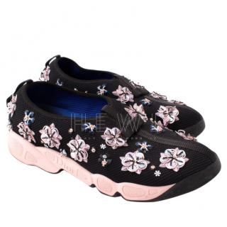 Dior Black & Pink Fusion Sneakers