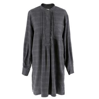 Isabel Marant Etoile Gray Long Sleeve Tunic Dress