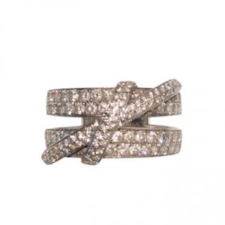 Mappin and Webb 1.7ct diamond pave ring