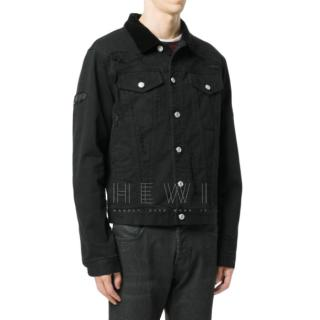 Alexander McQueen Men's Shredded Denim Jacket