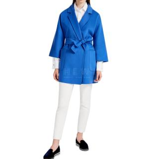 Max Mara Wool and Cashmere Eligio Coat
