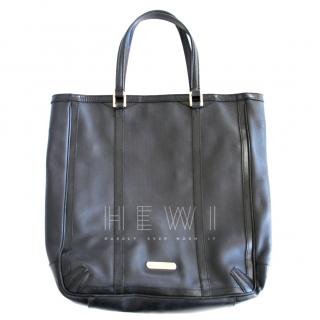 Burberry Mesh Leather Tote