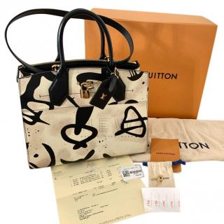 Louis Vuitton Tribal Print City Steamer Tote
