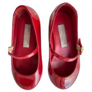 Dolce & Gabbana Red Patent Girl's Shoes
