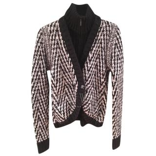Chanel Chevron Knit Jacket