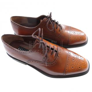 Fratelli Rossetti Brown Leather Brogues